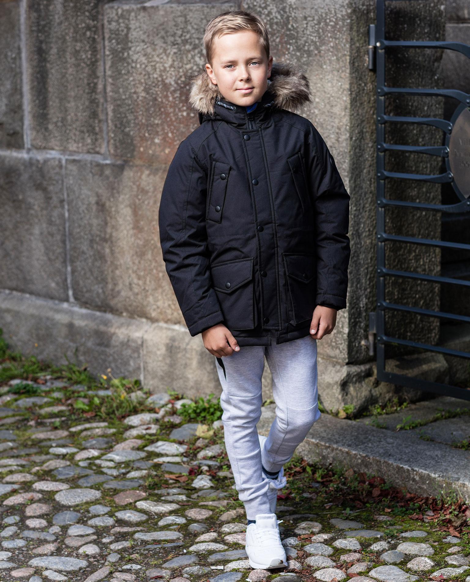 Jack /& Jones Boys Jjewetland Parka Jr Jacket