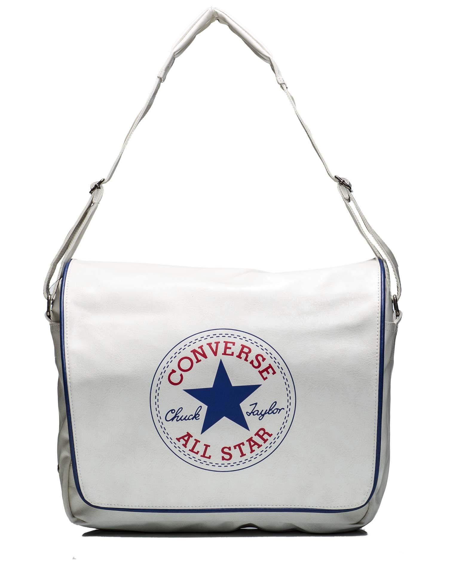 white converse bag