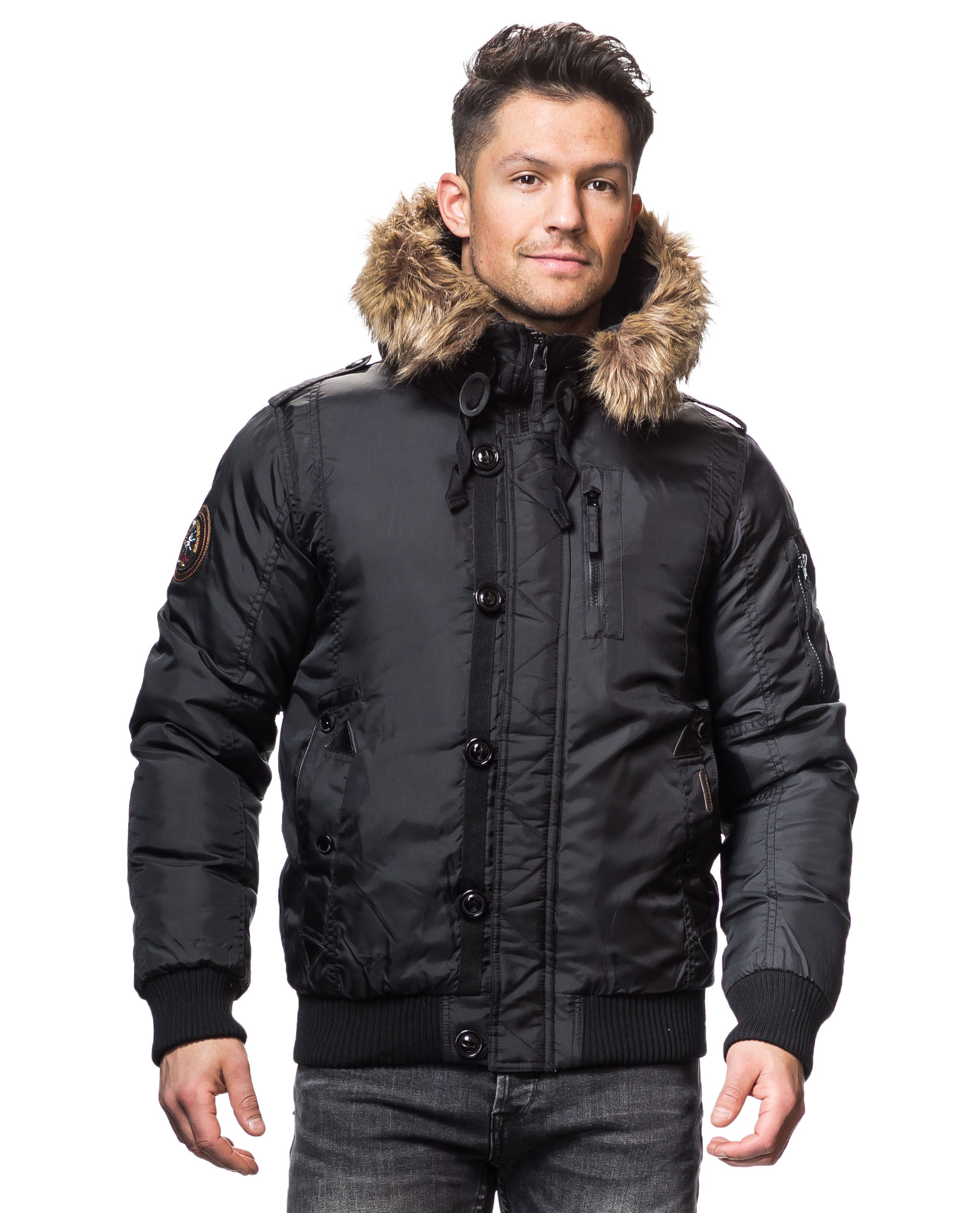 From Issue Five of Gear Patrol Magazine. Discounted domestic shipping + 15% off in the GP store for new subscribers.. Winter jackets are too often treated like umbrellas. They protect you from the elements, and nothing else. Style is secondary.