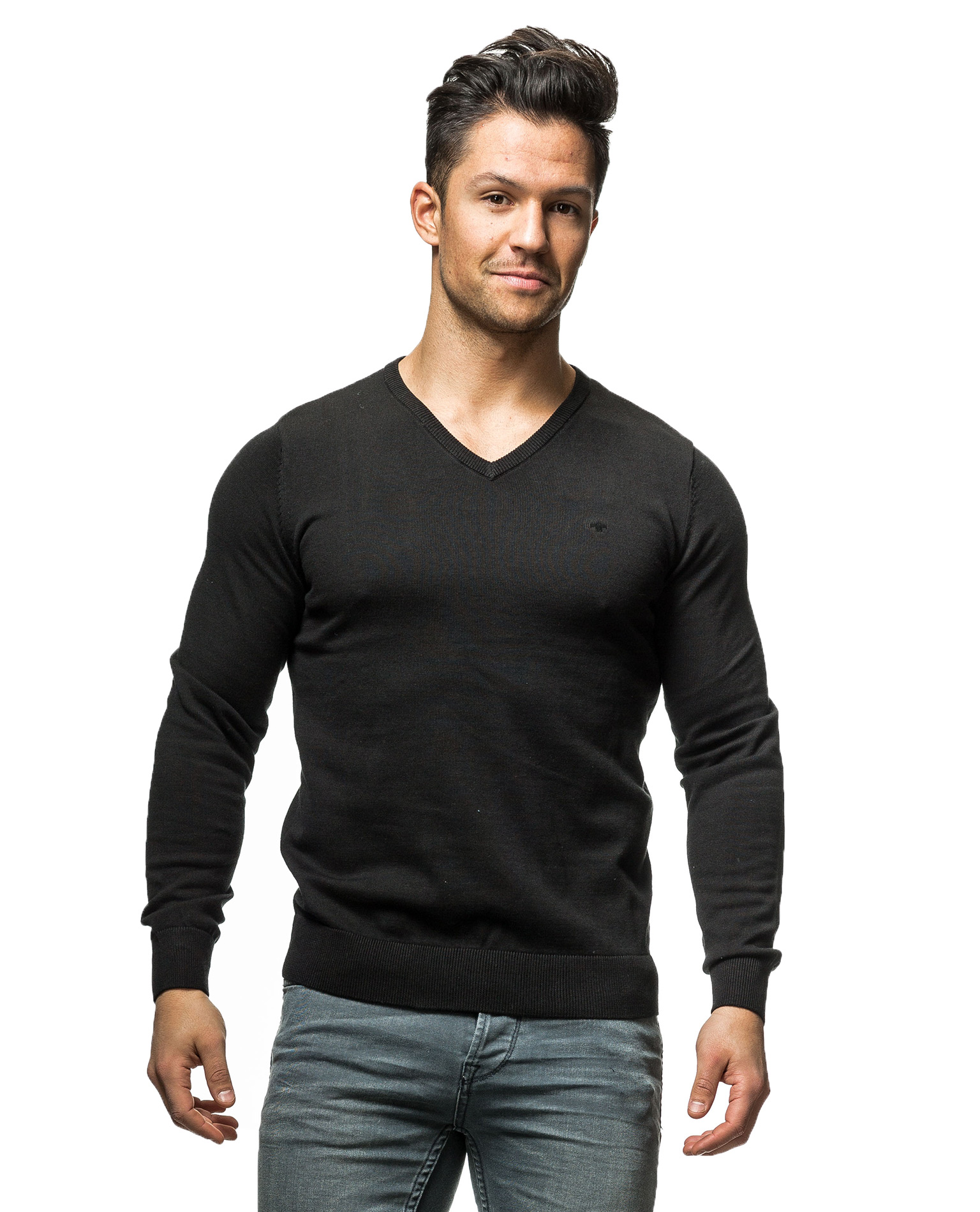 basic v neck tom tailor 3578 long sleeves. Black Bedroom Furniture Sets. Home Design Ideas